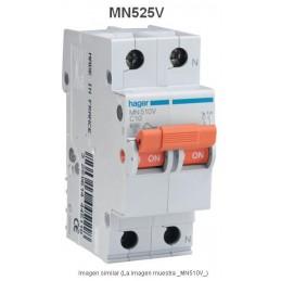 Magnetotermico 1P+N 25A Curva C 6KA Hager MN525V