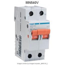 Magnetotermico 1P+N 40A Curva C 6KA Hager MN540V