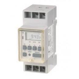 Interruptor horario digital semanal 1 canal reserva 200H EDH 11790