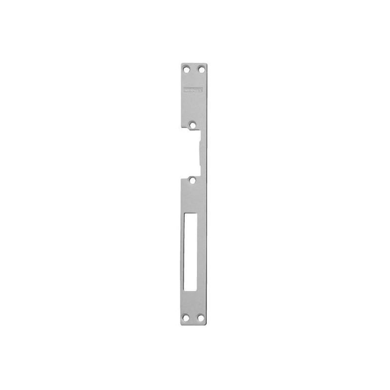 Armadura larga para cerradura electrica para puertas de madera
