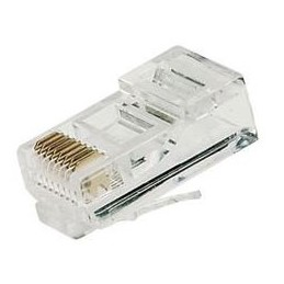 Clavija macho RJ45 categoria 6 UTP