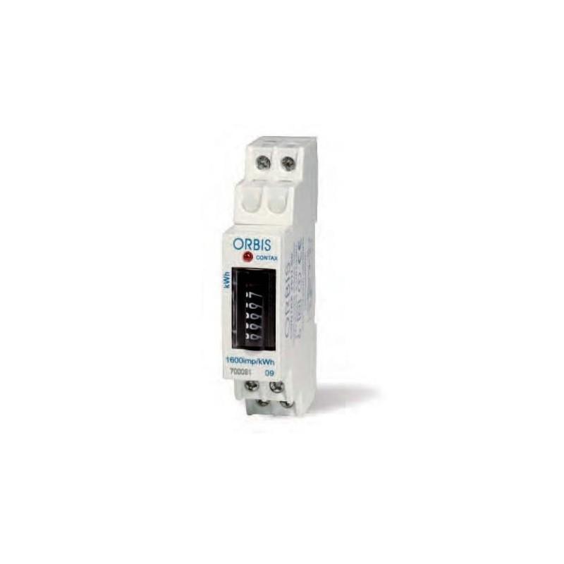 Contador de energia monofasico 230V 25Amp Orbis Contax 2511 S0