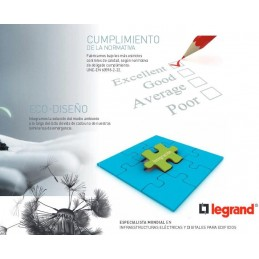 Luz Emergencia Led 350Lm Ura21Led Legrand 661609