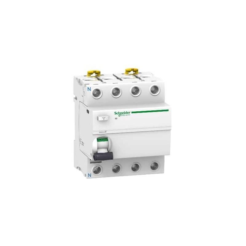 Interruptor Diferencial 4P 25Amp 300mA A9R84425 Schneider Electric