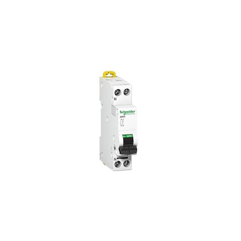 Magnetotermico DPN 1P+N 10A Curva C 6KA Schneider Electric A9N21644