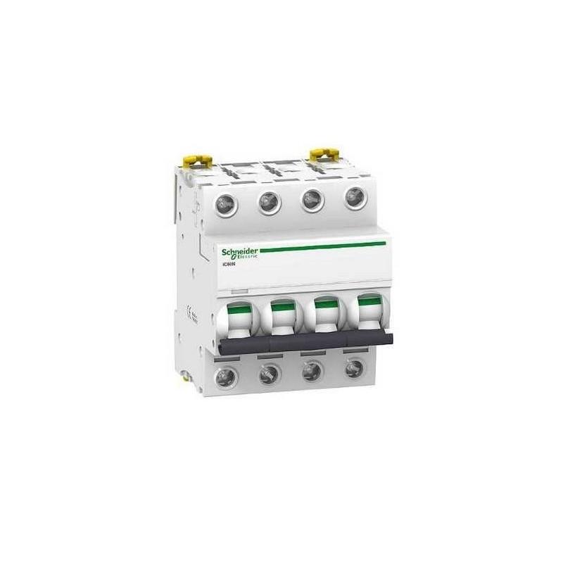 Magnetotermico 4P 10Amp Curva C 6KA A9F79410 Schneider Electric