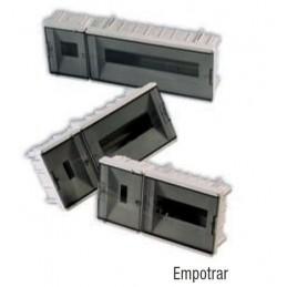 Caja ICP empotrar 4 elementos precintable puerta fume Vilaplana 853