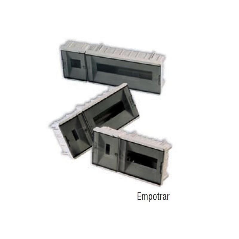 Caja automaticos empotrar 4 elementos puerta fume Vilaplana 853