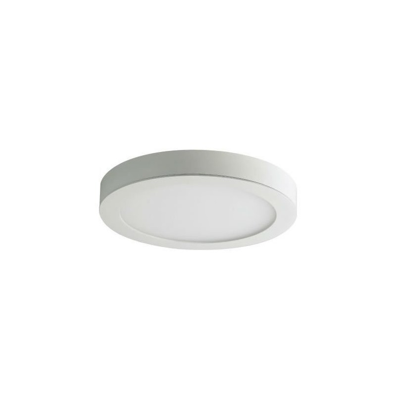 Downlight Led Redondo 13W Superficie Aro Blanco Luz Blanco Frio 5700-6200ºK Bdt-Led DW93131