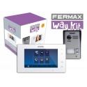 "Videoportero Kit Way 7"" 2 Hilos Color 2 Lineas Fermax 1402"