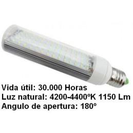 Bombilla led pl E27 7w 230v 180º blanco neutro 4200-4400ºk 1150lm Bdt-Led PL7005
