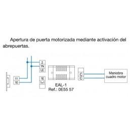Rele multifuncion EAL1 para funciones auxiliares Tegui 0E5557