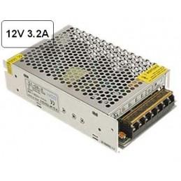 Fuente alimentacion 12V DC 3.2A 40W Agfri 16041 para tiras led