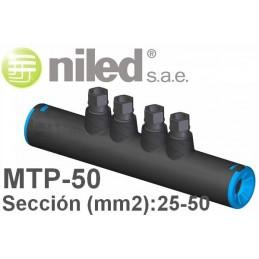 Manguito MTP-50 bimetalico redes subterraneas BT 25-50mm2 Niled