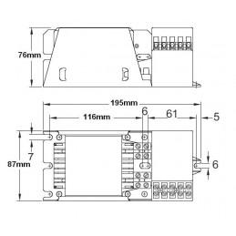 Equipo Sodio Alta Presion AF 250w ELT VSI 25/23-ARCE-100