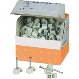 100 Grapas Nº9 para cable electrico redondo OBO 2225719