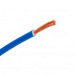 Cable flexible 1x4mm2 azul libre halogenos 750v Al Corte