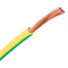 Cable flexible 1x10mm2 tierra libre halogenos 750v Al Corte