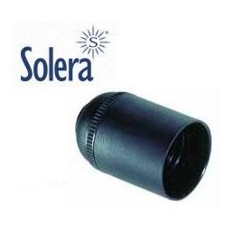 Portalamparas E27 negro liso Solera 6829CLN