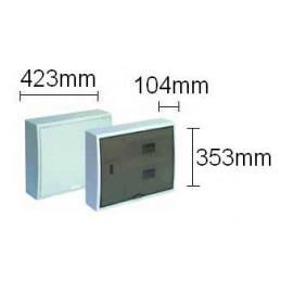 Caja automaticos superficie ICP+24 elementos puerta opaca Solera 8220