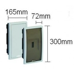 Caja ICP empotrar 4 elementos precintable puerta plena Solera