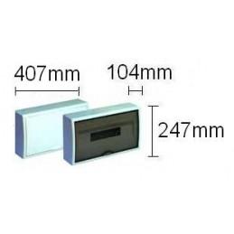Caja automaticos superficie 18 elementos puerta opaca Solera 8704