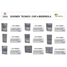 CGP Caja acometida aerea esquema 7 100 Amp bases buc CGP-7-100/BUC Cahors 445049