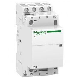 Contactor riel 4NA 25Amp Bobina 230/240V Schneider Electric A9C20834