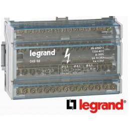 Repartidor riel 4P 125A 8 Modulos 15 Conexiones Legrand 4888