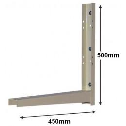 Juego 2 soportes pared AA 500x450x2 Agfri C-46