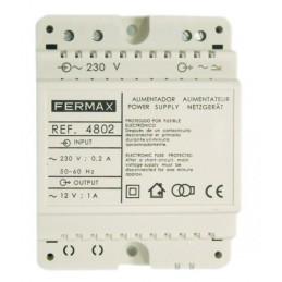 Alimentador DIN4 230Vac 12Vac 1A Fermax 4802