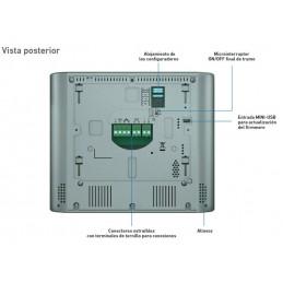 Kit video 2 hilos color Classe 300X13E manos libres WI-FI + LINEA 3000 Bticino 363911