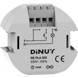 Regulador de luz 750w Dinuy RE PLA 002