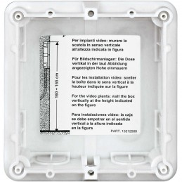 Caja de empotrar 1 modulo Bticino 350010