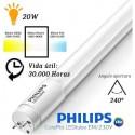 10 Tubos Led 1500mm 4000K Blanco Neutro T8 G13 Philips CorePro LEDtube 20W/840