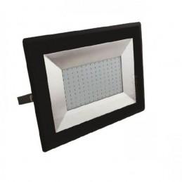 Proyector LED Slim 100W Negro Luz Blanco Frio 6500K 8500Lm