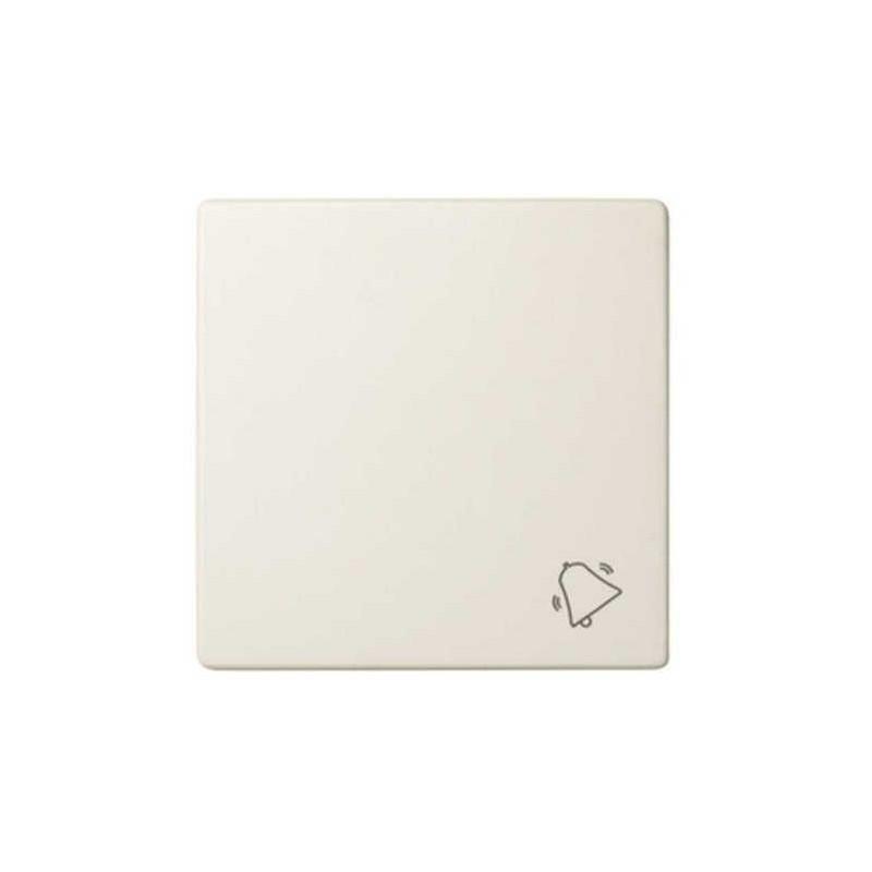 Tecla pulsador timbre ancha marfil Serie 82 Simon 82017-31