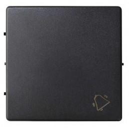 Tecla pulsador timbre ancha grafito Serie 82 Simon 82017-38