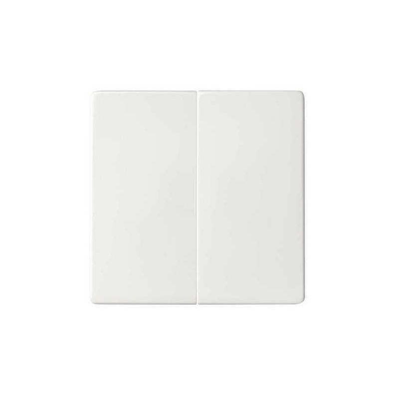 Tecla grupo 2 interruptores conmutadores pulsadores blanca Serie 82 Simon 82026-30