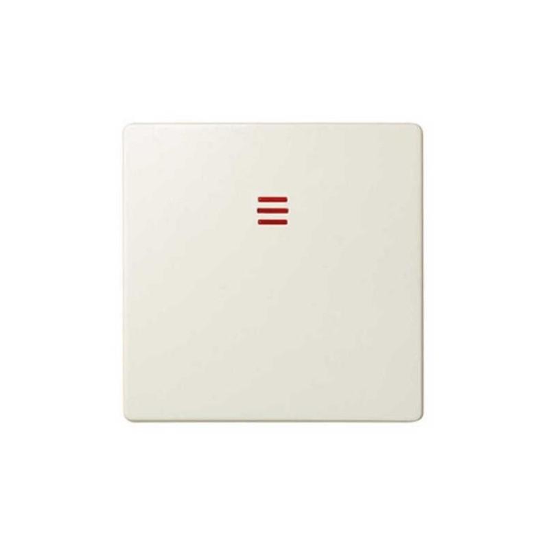 Tecla interruptor conmutador cruze con visor ancha marfil Serie 82 Simon 82011-31