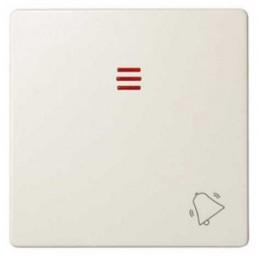 Tecla pulsador timbre simbolo campana con visor ancha marfil Serie 82 Simon 82015-31