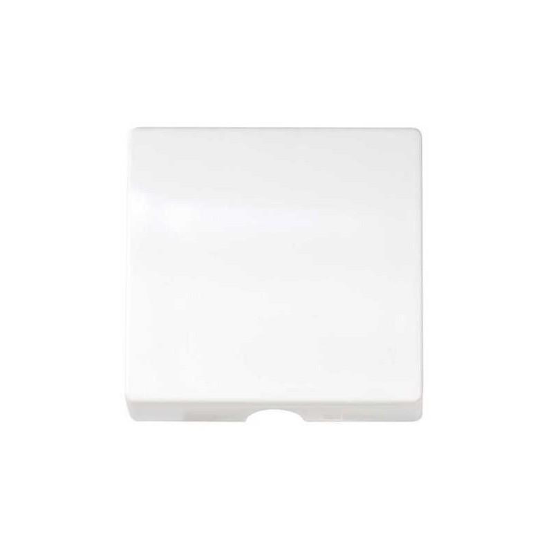 Tecla salida de hilos ancha blanca Serie 82 Simon 82051-30