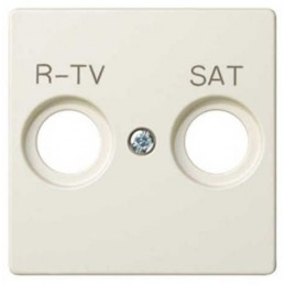 Tapa toma R-TV SAT ancha marfil Serie 82 Simon 82097-31
