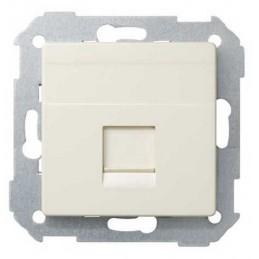 Tecla para 1 conector AMP ancha marfil Serie 82 Simon 82005-31