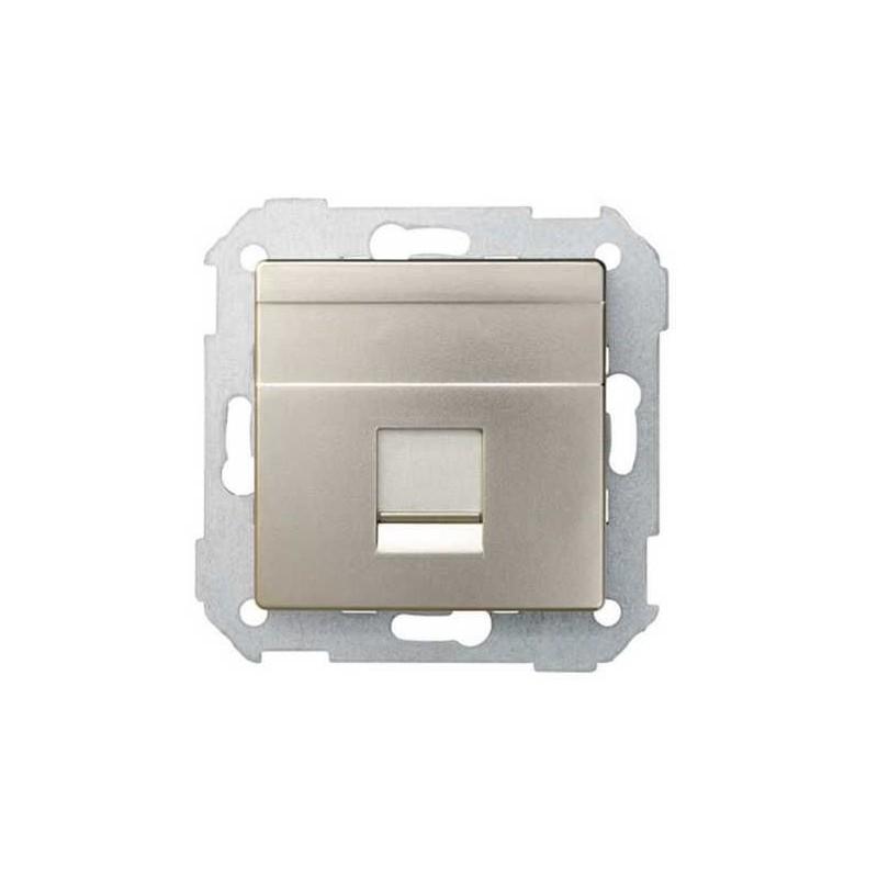 Tecla para 1 conector AMP ancha cava Serie 82 Simon 82005-34