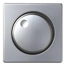Tecla para reguladores de tension ancha aluminio Serie 82 Simon 82054-33