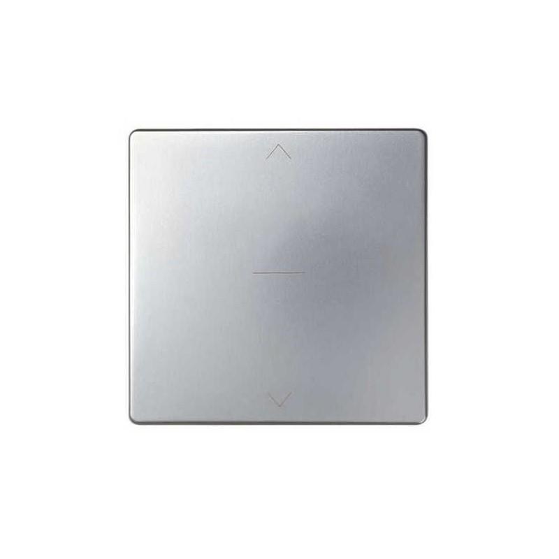 Tecla interruptor persiana ancha aluminio Serie 82 Simon 82033-33