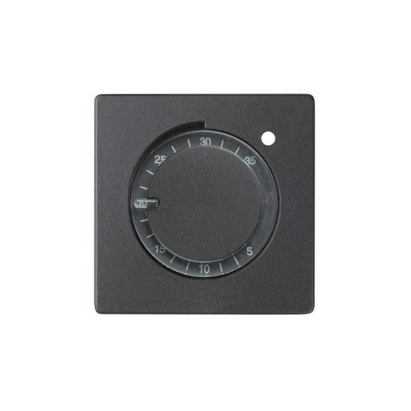 Tecla para termostatos ancha grafito Serie 82 Simon 82505-38