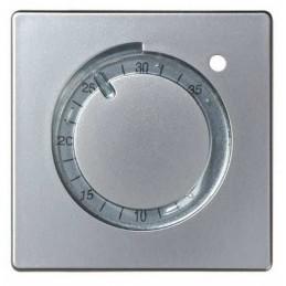 Tecla para termostatos ancha aluminio Serie 82 Simon 82505-33