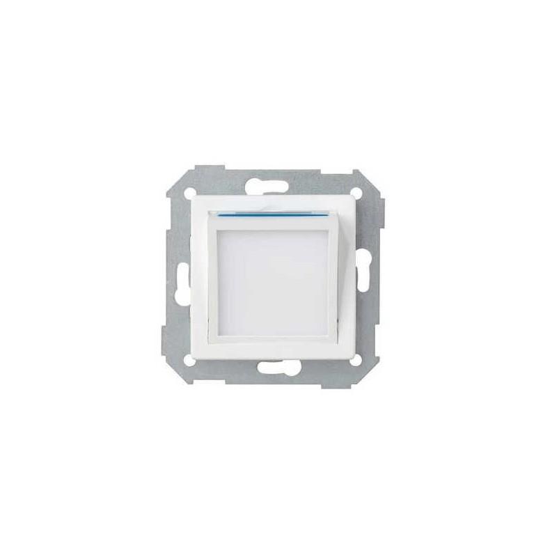 Tapa baliza de cortesia ancha blanca Serie 82 Simon 82036-30